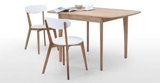 Retractable Dining Table Monty Extending Dining Table In Oak Made Com