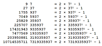 pattern with palindromic numbers computing with decadic numbers the math less traveled