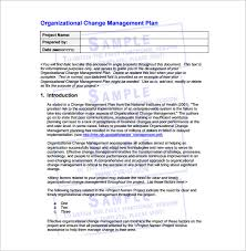 change management plan template u2013 6 free word pdf documents