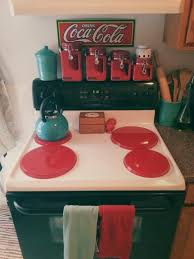 red canisters kitchen decor i love the little red canisters and the teal tea kettle one of