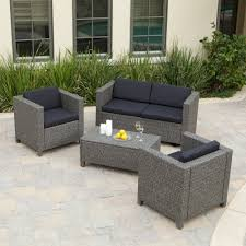 Wicker Patio Furniture Lowes - furniture grey ceramic floor with furniture lowes wicker