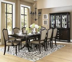 queen anne dining room sets homelegance marston double pedestal dining table in dark espresso