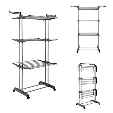 collapsible clothes rack whitmor commercial folding garment rack
