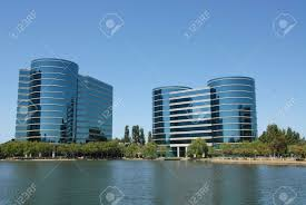 Techoffice by High Tech Office Buildings Redwood Shores California Stock Photo