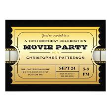 movie night invitations template the 25 best gold ticket ideas on pinterest old hollywood party