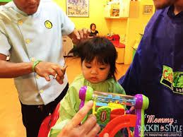 our first haircut at cuts 4 tots trinoma mall mommy rockin u0027 in