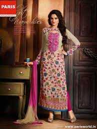 long salwar kameez suite u2013 parisworld