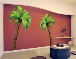 palm tree wall mural decal large wall decal murals primedecals
