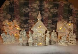 Christmas Village Sets Light Up Christmas Village Set Christmas Lights Card And Decore