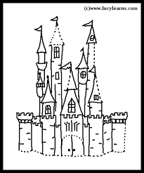 castle coloring free