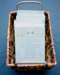 wedding programs ideas 45 wedding ceremony programs martha stewart weddings
