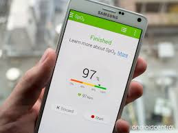 samsung health update adds oxygen saturation measurement and