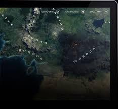The Hobbit Map A Journey Through Middle Earth U2013 Jonas Eriksson