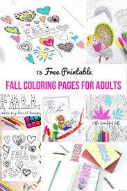fall color page free printable fall colouring pages for adults mum in the madhouse