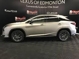 lexus rx 350 for sale 2017 new 2017 lexus rx 350 4 door sport utility in edmonton ab l13779