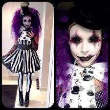 Creepy Clown Halloween Costumes Creepy Clown Couple Costume Clown Evil Clowns Pom Poms