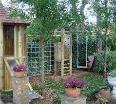 climbing frame for small gardens log cabin u2026 pinteres u2026