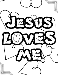 let me be a blessing ministries jesus loves me coloring page 2