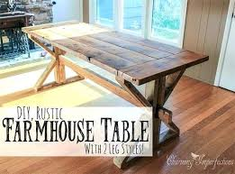 free farmhouse table plans free farmhouse table plans for a rustic dinning room free farmhouse