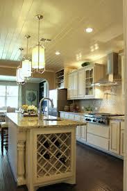 Kitchen Island With Wine Rack - hard maple wood saddle amesbury door kitchen island wine rack