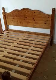 duckers pine kingsize bed frame in tranent east lothian gumtree