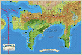 Jhu Campus Map Narwan 10 Miles Per Hex Full Map Patreon U2013 Thorfinn Tait