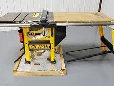 dewalt table saw dw746 irs auctions lot listing