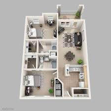 2 Bed 2 Bath Floor Plans 2 Bedroom 2 Bath Apartments Chuckturner Us Chuckturner Us