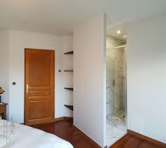 salle d eau chambre chambre salle de bain ouverte salle d eau suite parentale deux s de