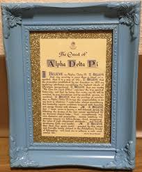 sorority picture frame best 25 sorority picture frames ideas on big