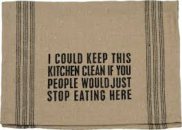 keep kitchen clean dish towel keep kitchen clean everyday primitives by kathy