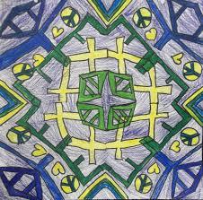 pattern art name my blue art room name mandalas