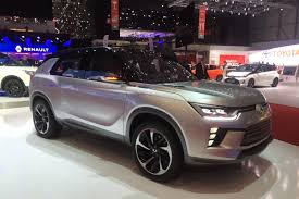 renault suv concept ssangyong siv 2 suv blasts into geneva on hybrid power auto express