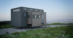 tiny house slide out aurora tiny house doubles interior space with slide out cabins