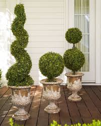 battery operated boxwood topiary balsam hill