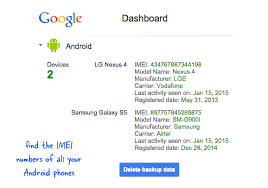 track my android can i find or track a lost phone using the imei number quora