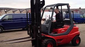 linde h30 diesel forklift truck youtube