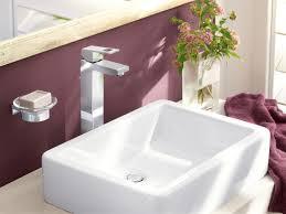 Grohe Eurocube Bathroom Faucet by Eurocube Single Lever Basin Mixer 1 2