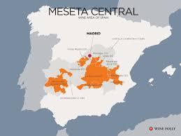 Map Of Madrid Spain by Guide To The Castilla La Mancha Wine Region Wine Folly