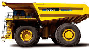 rigid dump truck electric diesel mining and quarrying 960e