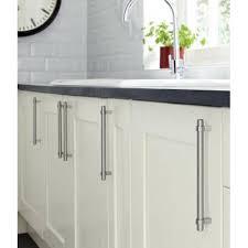 Kitchen Cabinet Handles Collared Mm Bar Stainless Steel - Kitchen cabinet bar handles
