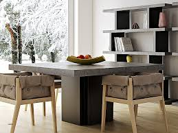 cuisine bois beton table a manger best of table a manger en bois design high definition
