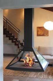 cheminee moderne design cheminée contemporaine suspendue cheminée d u0027angle suspendue