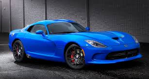2016 dodge viper now available with matte paint finishes
