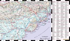 Detailed Map Of France by Streetwise Provence Map Laminated Regional Road Map Of Provence