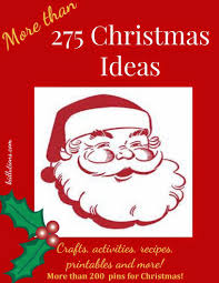 more than 275 christmas crafts activities printables and more