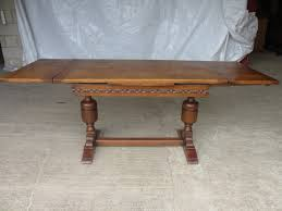 what is a draw leaf table oak draw leaf extending refectory dining table 248173