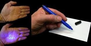 uv marker and light invisible uv marker wide spectrum cordless fluorescent uv light