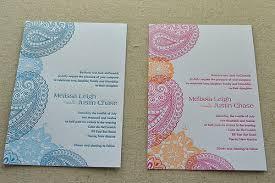 henna wedding invitations the handwork chronicles new wedding invitation sles