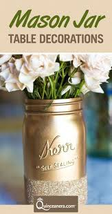 jar table decorations quinceanera table decorations jar edition quinceanera